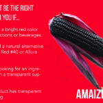 how to know if amaize red anthocyanin is the right color for you application