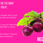 how to know if red beet is the right color for your application