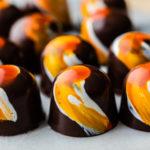 orange annatto in chocolate confections
