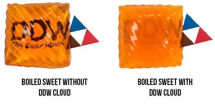 DDW Cloud as a Titanium Dioxide Alternative in boiled sweets